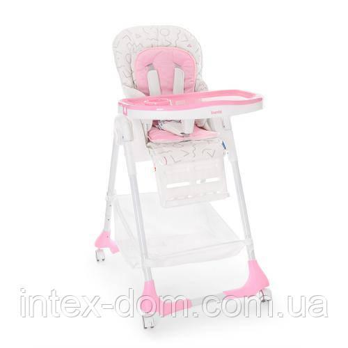 Детский стульчик для кормления Bambi 3822-3 (розовый)