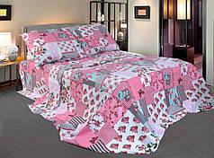 Комплект постельного белья Уютная Жизнь Полуторный 150x215 Сказочные бабочки
