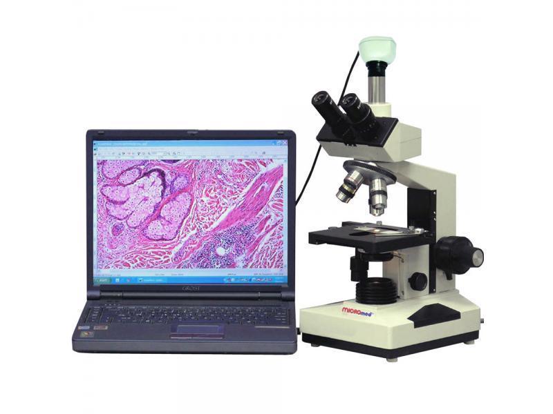 Цифровой микроскоп XS-3330 LED (с камерой 5 Мп.)