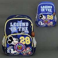 Ортопедический рюкзак Микки Маус с брелком, фото 1