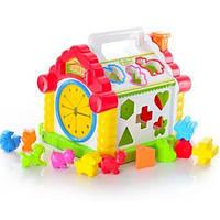 Развивающий домик сортер для детей от 1 года