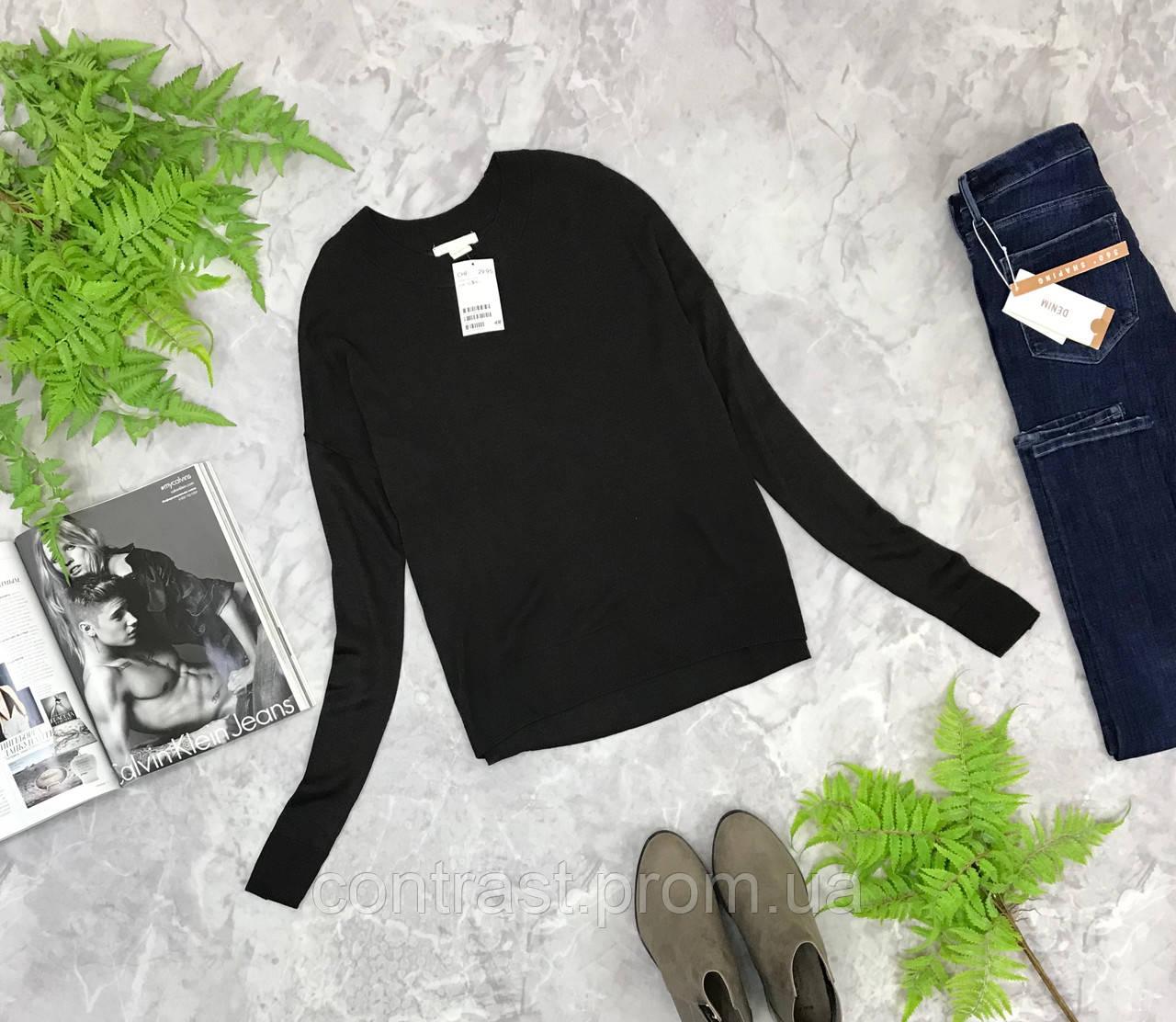 Базовый свитер прямого кроя от H&M  SH1849106