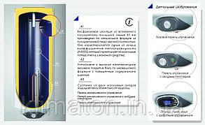 Водонагреватель ELDOM Favorite WV08039 80 L 2.0 kW (slim), фото 3