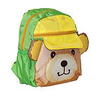 Рюкзачок медвежонок Паддингтон зеленый