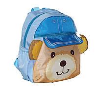 Рюкзачок медвежонок Паддингтон голубой