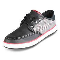 Кроссовки женские Adidas Neo Sheridan Textile U45765 (черные, кожа с текстилем, повседневные, бренд адидас)