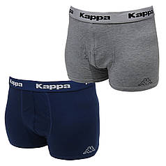 Трусы-шорты Kappa 2 шт Серые + Синие (906)
