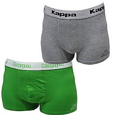 Трусы-шорты Kappa 2 шт Зеленые + Серые (907)