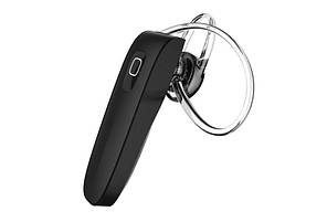 Bluetooth гарнитура HOOK B1 Black (hub_BZqW32607_my)