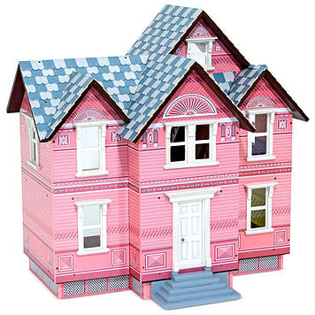 Дерев'яний будиночок для ляльок Melіssa & Doug у Вікторіанському стилі