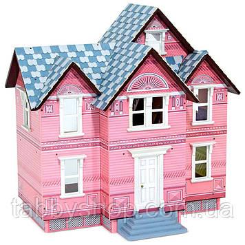 Деревянный домик для кукол Melissa & Doug в Викторианском стиле