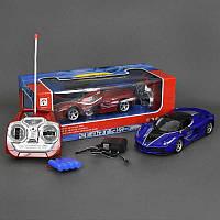 Машина Sport racing синяя и красная с аккумулятором