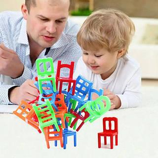 Детская головоломка балансировка стульев