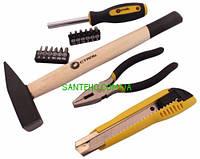 Набор ручных инструментов Сталь 16 единиц