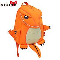 Детский рюкзак Nohoo динозаврик большой оранжевый