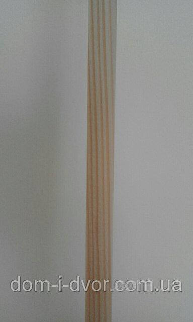 60*12*2200мм Деревянные наличники(смерека,ель) Прямой Евро Плоский Цельный от Производителя