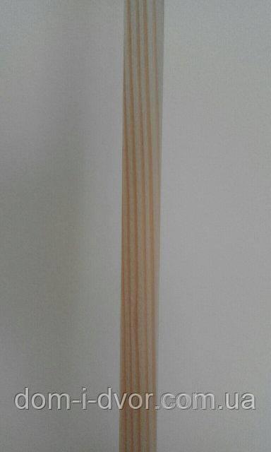 Деревянные наличники(смерека,ель) Прямой Евро Плоский Цельный от Производителя 60*12*2200мм
