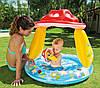 Детский бассейн Intex Грибочек с надувным дном