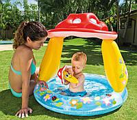 Детский бассейн Intex Грибочек с надувным дном , фото 1