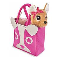 Собачка игрушка Chi Chi Love Модница с сумочкой
