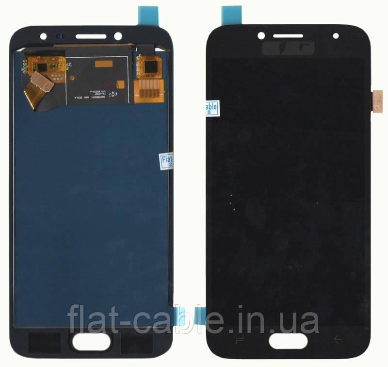 Дисплей + сенсор Samsung J250 J2 (J2018) Чёрный LCD TFT, с регулировкой яркости (PRC)