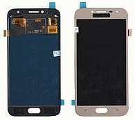 Дисплей + сенсор Samsung J250 J2 ( J2018) Золотий LCD TFT, з регулюванням яскравості