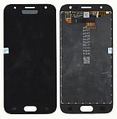 Дисплей + сенсор Samsung J330 J3 ( J2017) Чорний