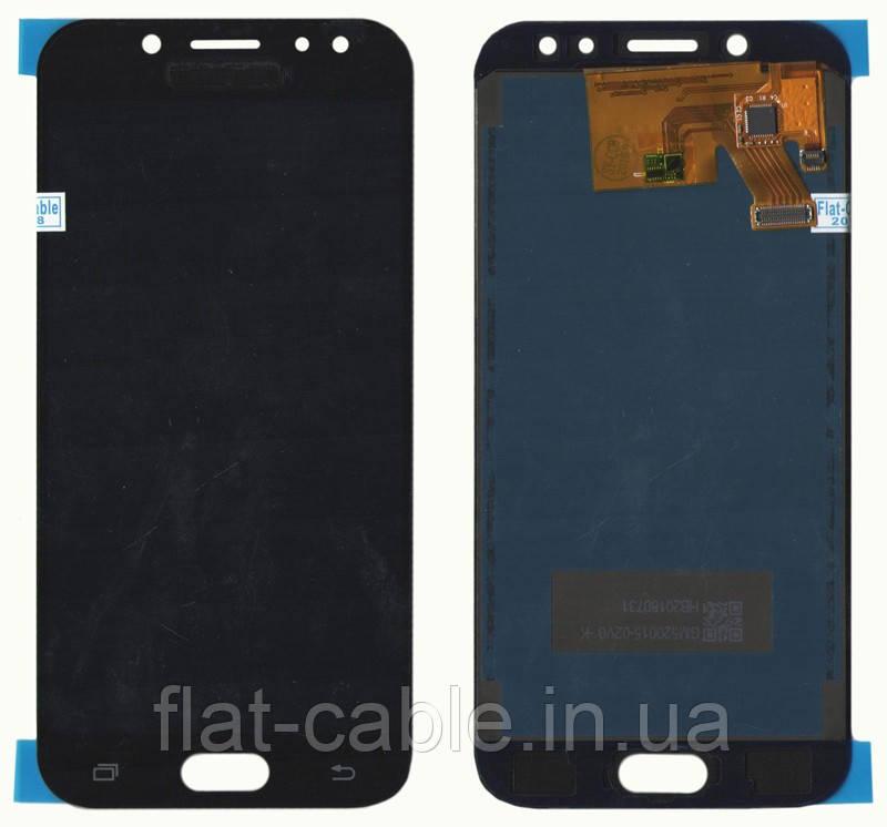 Дисплей + сенсор Samsung J530 J5 ( J2017) Черни LCD TFT, з регулюванням яскравості