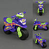 Каталка мотоцикл Спорт фиолетовый