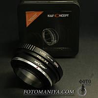 Перехідне кільце адаптер K&F Concept Canon FD  - Sony E (NEX)