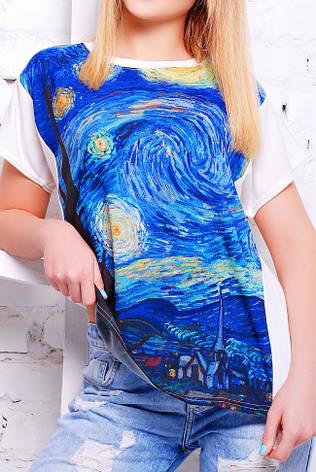 """Жіноча футболка """"Air"""" з принтом, фото 2"""