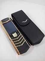 Vertu Signature S Design Gold + Подарок