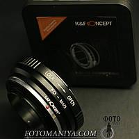 Перехідне кільце адаптер  K&F Concept Canon FD - Micro 4/3 (MFT)