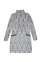 Платье ТМ Mevis 2284 серый цвет (152)