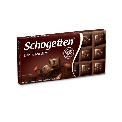 Шоколад черный Schogetten Dark Chocolate, 100г