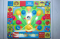 Мозаика для самых маленьких, с крупными деталями, 12 картинок, 38 деталей, фото 1