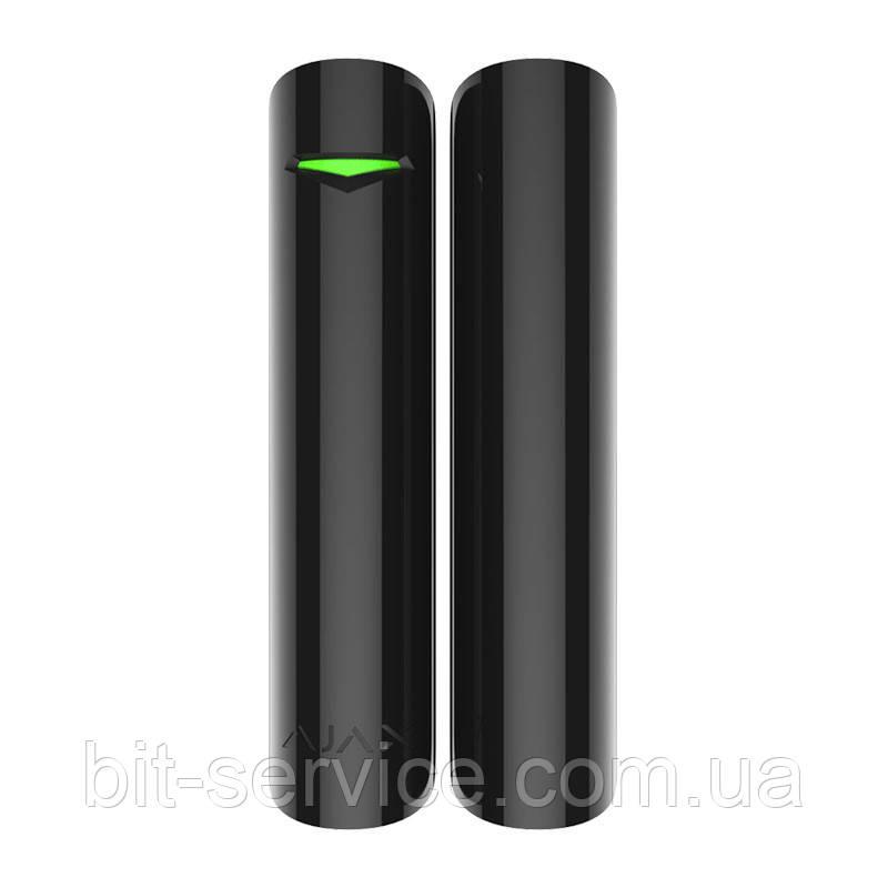 Ajax DoorProtect Plus – Бездротовий датчик відкриття з сенсором удару та нахилу – чорний