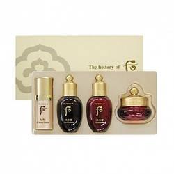 The History оf Whoo Набор Миниатюр - Антивозрастной уход 4 ед Ja Saeng Essence Special Gift Set 4 items