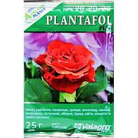 Комплексное удобрение ПЛАНТАФОЛ (PLANTAFOL) Valagro NPK 20.20.20. (рост плодов) 25 г Organic Planet