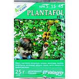 Комплексное удобрение ПЛАНТАФОЛ (PLANTAFOL) NPK 5.15.45. (Созревание плодов) 25 г Organic planet, фото 2