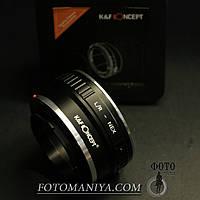 Перехідне кільце адаптер K&F Concept Leica R- Sony E (NEX), фото 1