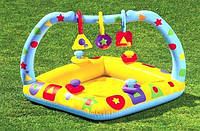 Детский бассейн Intex с надувным дном Фигурки, фото 1
