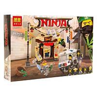Ninja Bela Ограбление киоска в Ниндзяго сити на 263 деталей