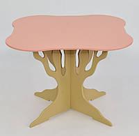 """Детский стол розовый """"Мася"""""""