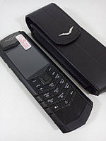Vertu Signature S Design Pure Black + Подарок