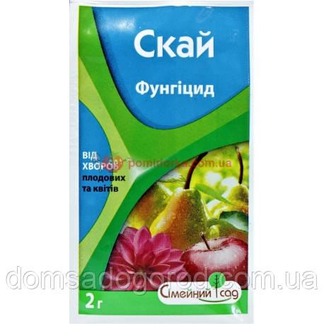 Фунгицид СКАЙ Семейный сад (аналог СТРОБИ) 2 гр.