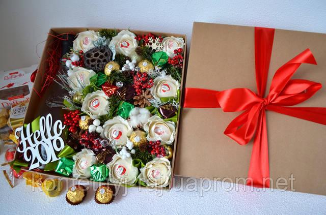 Подарок директору на новый год из конфет