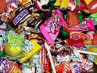 Конфеты, леденцы и печенье