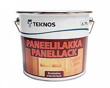 Лак акриловый TEKNOS PANEELILAKKA панельный (полуматовый) 2.7 л