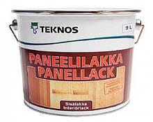 Лак акриловый TEKNOS PANEELILAKKA панельный (полуматовый) 9 л